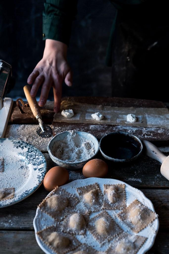 ravioli met salie recept