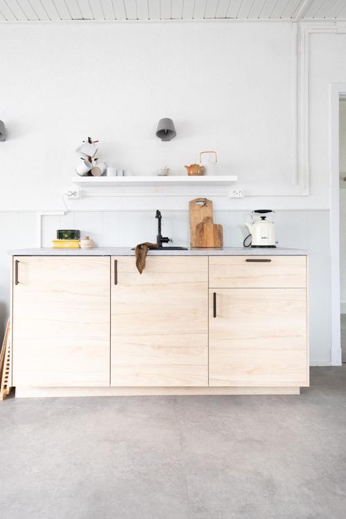 keuken in fotostudio