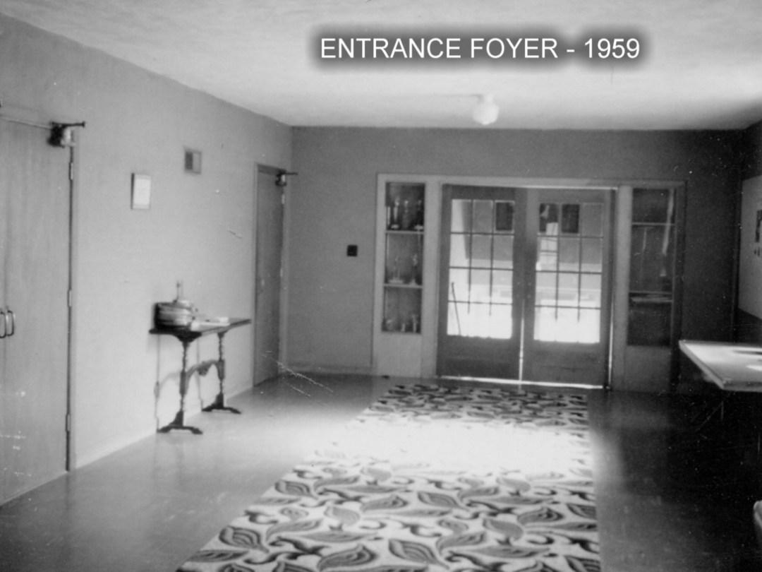 1959 b entrance foyer