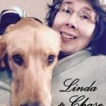 Linda & her dog Chase