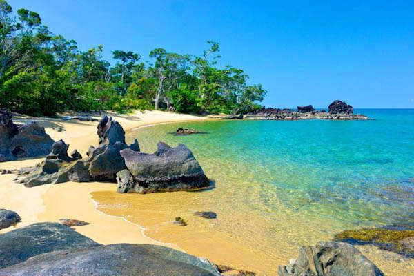 Spiaggia nel Parco nazionale di Masoala - Madagascar