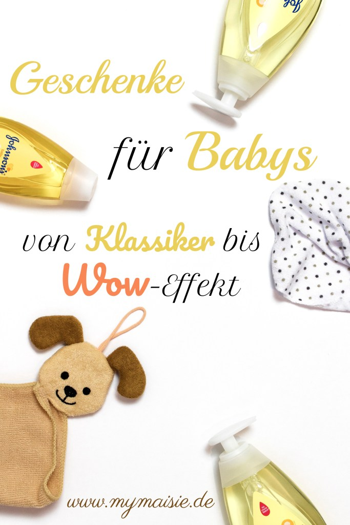 Geschenkideen für Babys bis 1 Jahr von Klassiker bis Wow Effekt