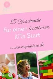 15 Geschenkideen für einen leichteren KiTa Start