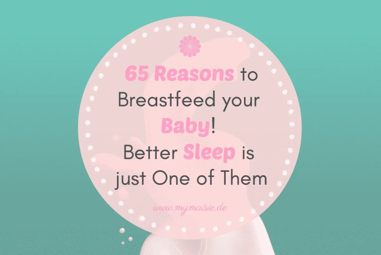 65 Reasons to Breastfeed your Baby! Better Sleep is just One of Them 😍