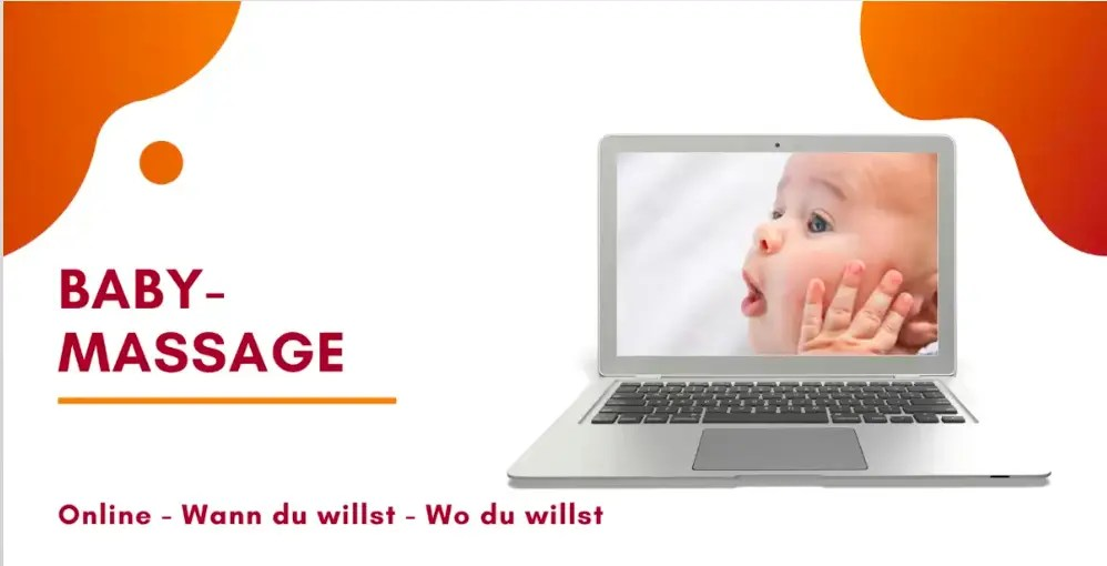 Babymassage online Geburtsgeschenk Geschenkidee