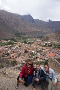 An incredible view of Ollantaytambo