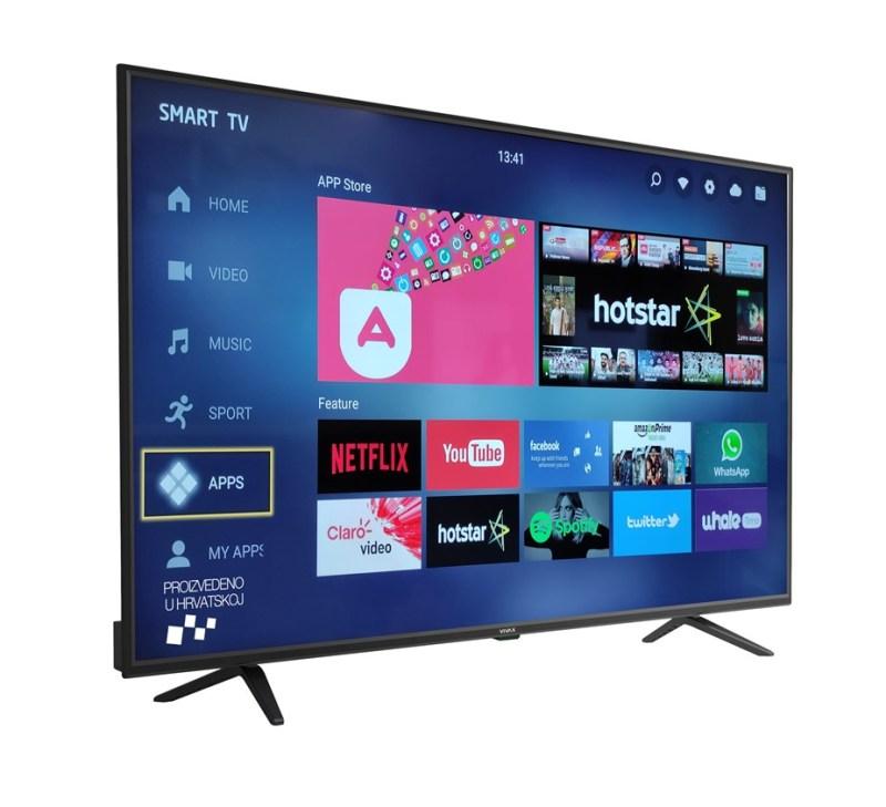 Vivax LED TV-55UHD123T2S2SM -55'' Smart
