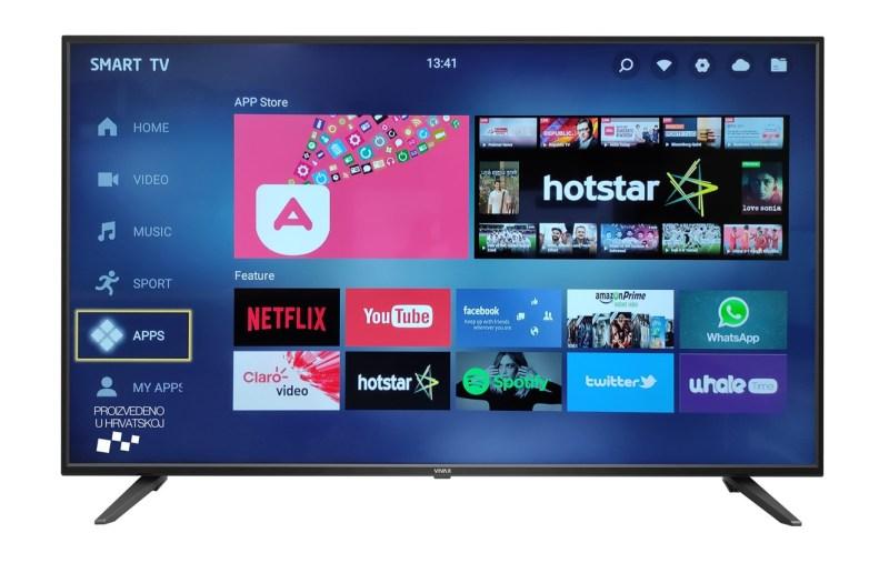 VIVAX LED-50UHD123T2S2SM-50'' Smart UHD TV