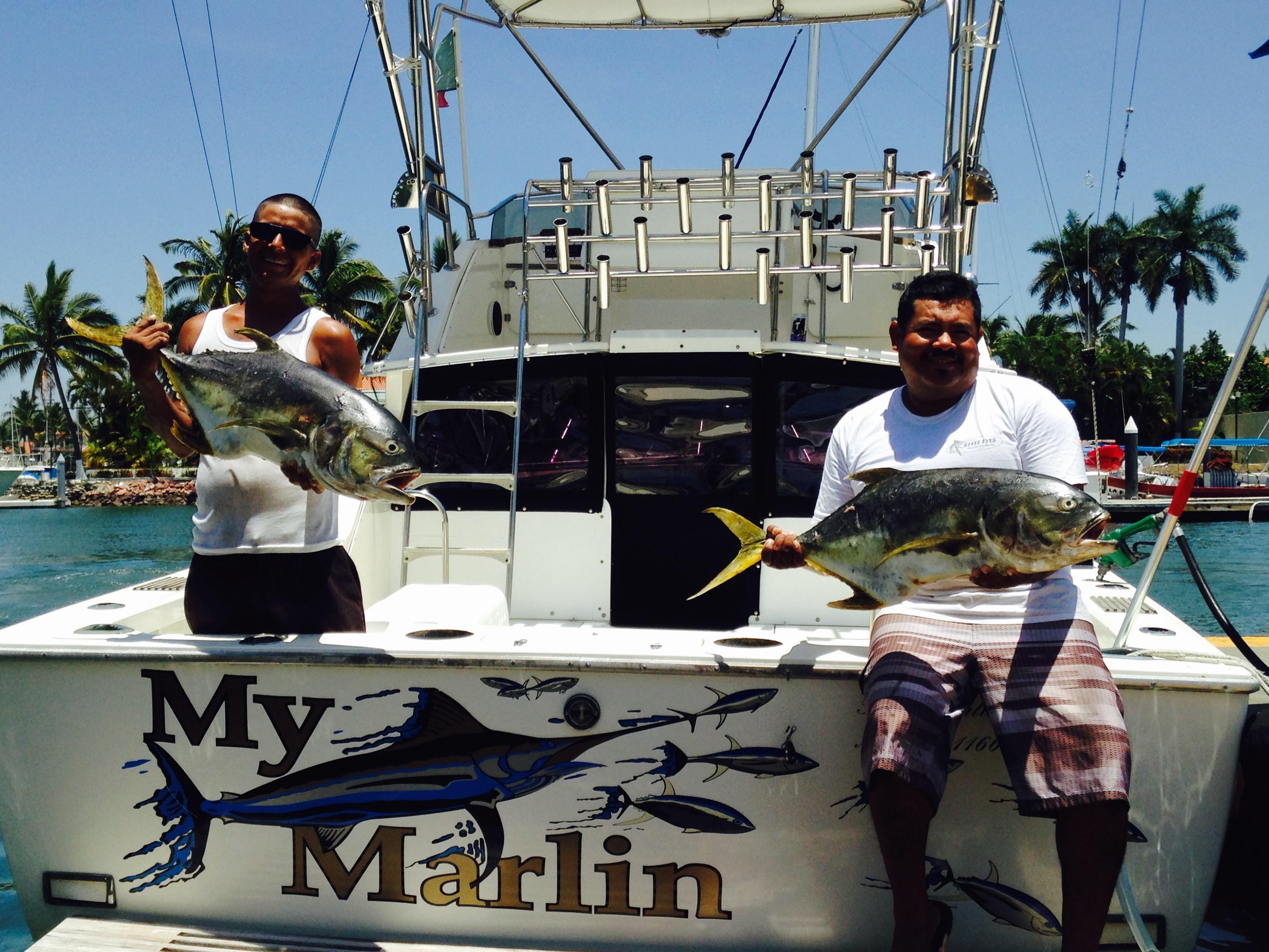 Charters my marlin puerto vallarta fishing for Marlin fishing charters