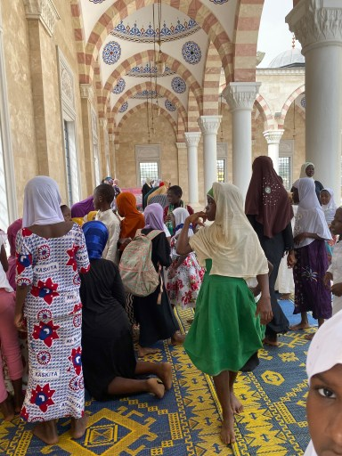 Friday Prayers at the Accra Central mosque