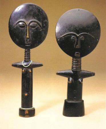Akuaba Dolls from AKUA'S CHILD AND OTHER RELATIVES: NEW MYTHOLOGIES FOR OLD DOLLS by DORAN H. ROSS