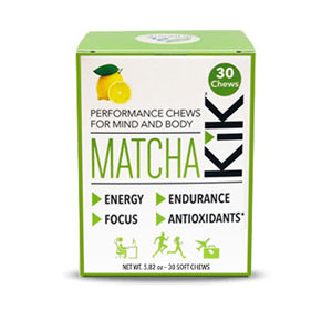 Matcha KiK Performance Chews 30
