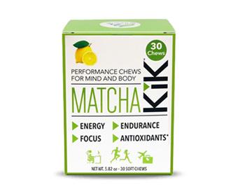 Matcha KiK Performance Chews 30