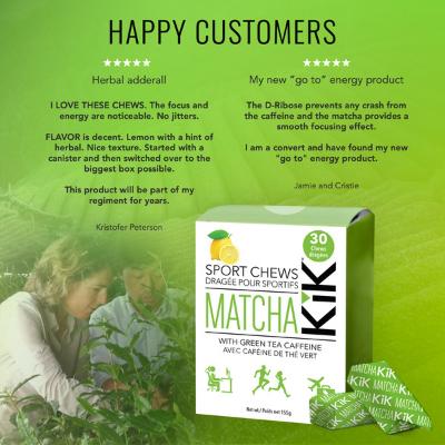 Matcha KiK Happy Customers
