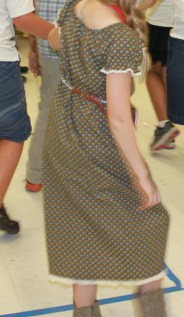 mml gold rush dress square dance