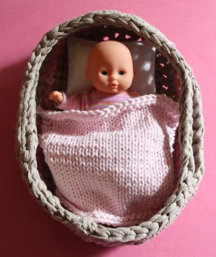 mml mini baby in basket