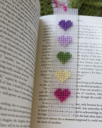 mml hearts bookmark