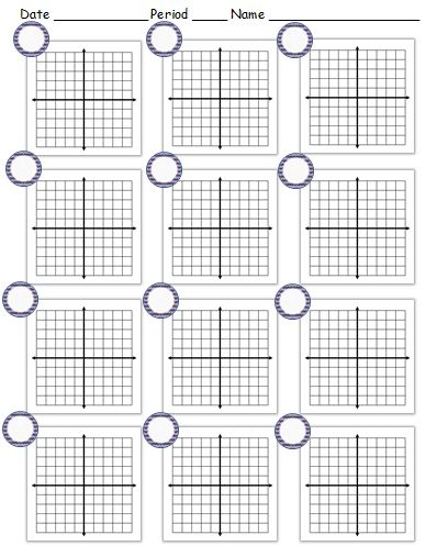 Worksheet Blank Coordinate Plane Worksheet coordinate plane archives my math resources example of blank worksheet the circles are for problem numbers note 5 spaces on each side x axis and y axis