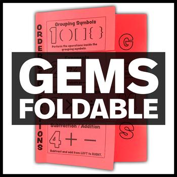 GEMS Foldable