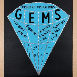 GEMS Order of Operations Poster and Handout