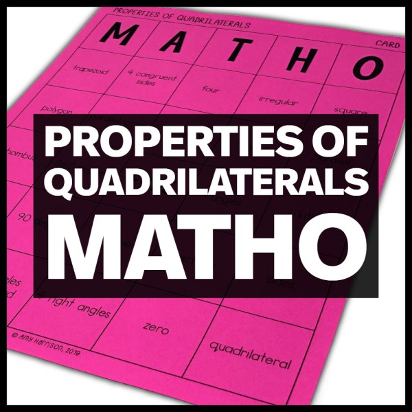 quadrilaterals matho
