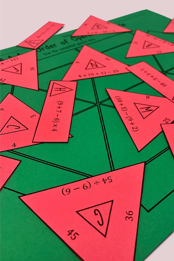 This is a fun and engaging way for your 5th grade math students to practice the order of operations and common core standard 5.OA.A.1!   This is a no prep activity for your 5th grade math class!