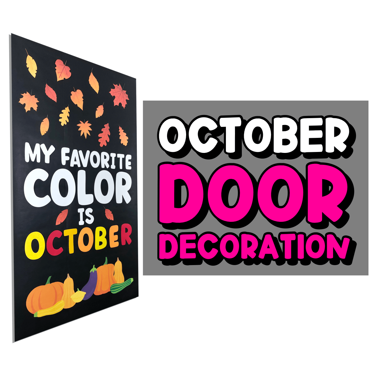 October Door Decor