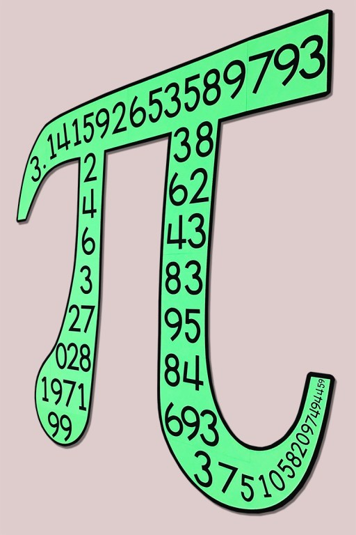 This Pi symbol poster will look so cute in your middle school math classroom!  This is a DIY black & white poster - you can create it with any printer!  Your 7th, 8th, or 9th grade math class will love this poster!