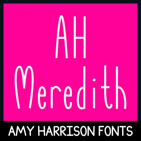 AHMeredith Font