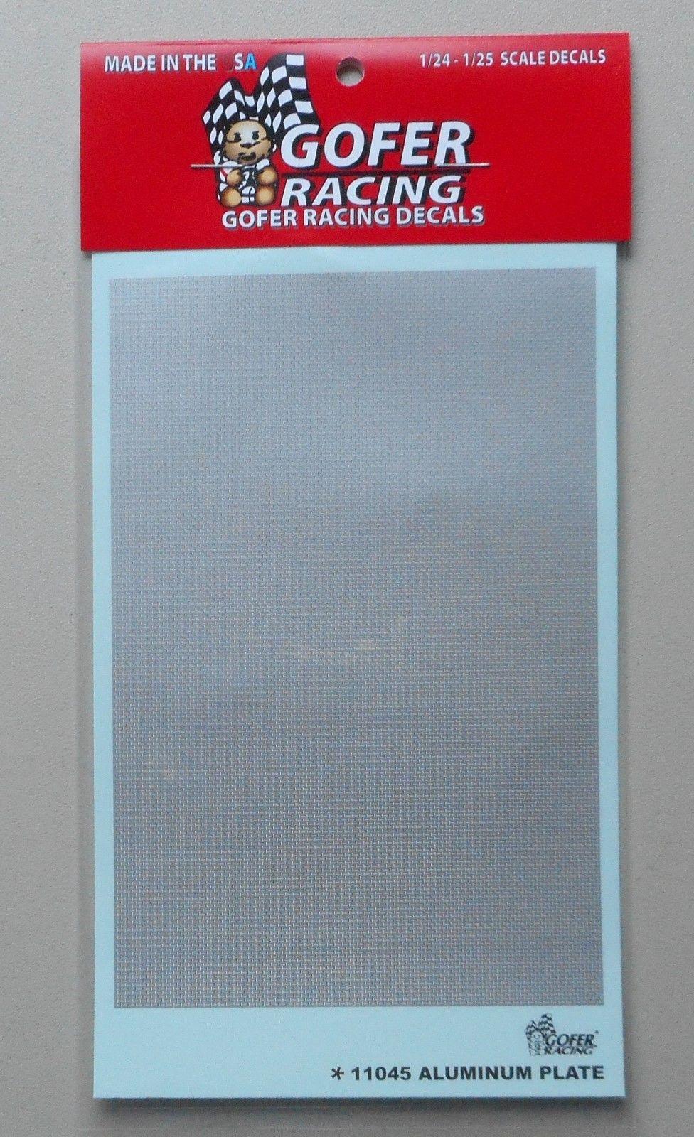 Gofer Racing 1//24-1//25 Aluminum Plate Sheet  11045