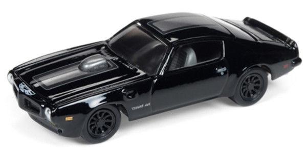 1973 Pontiac Firebird Trans Am Blacked Out Johnny Lightning Die Cast 1 64