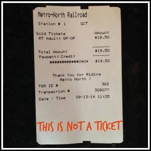 train receipt
