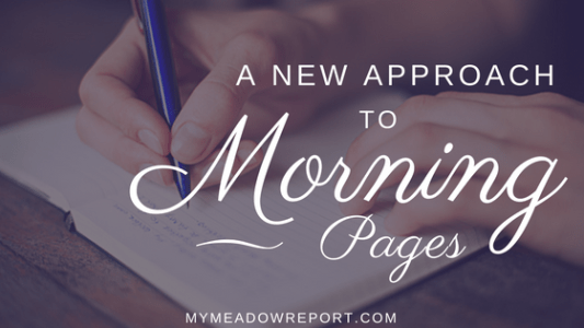 new-approach-to-morning-pages