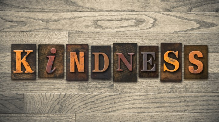 self-kindness is not selfish