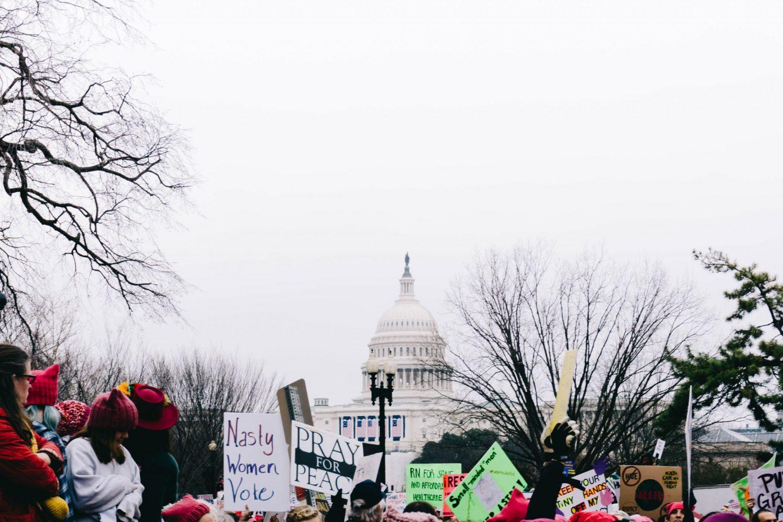 Catalyze Lasting Change protest