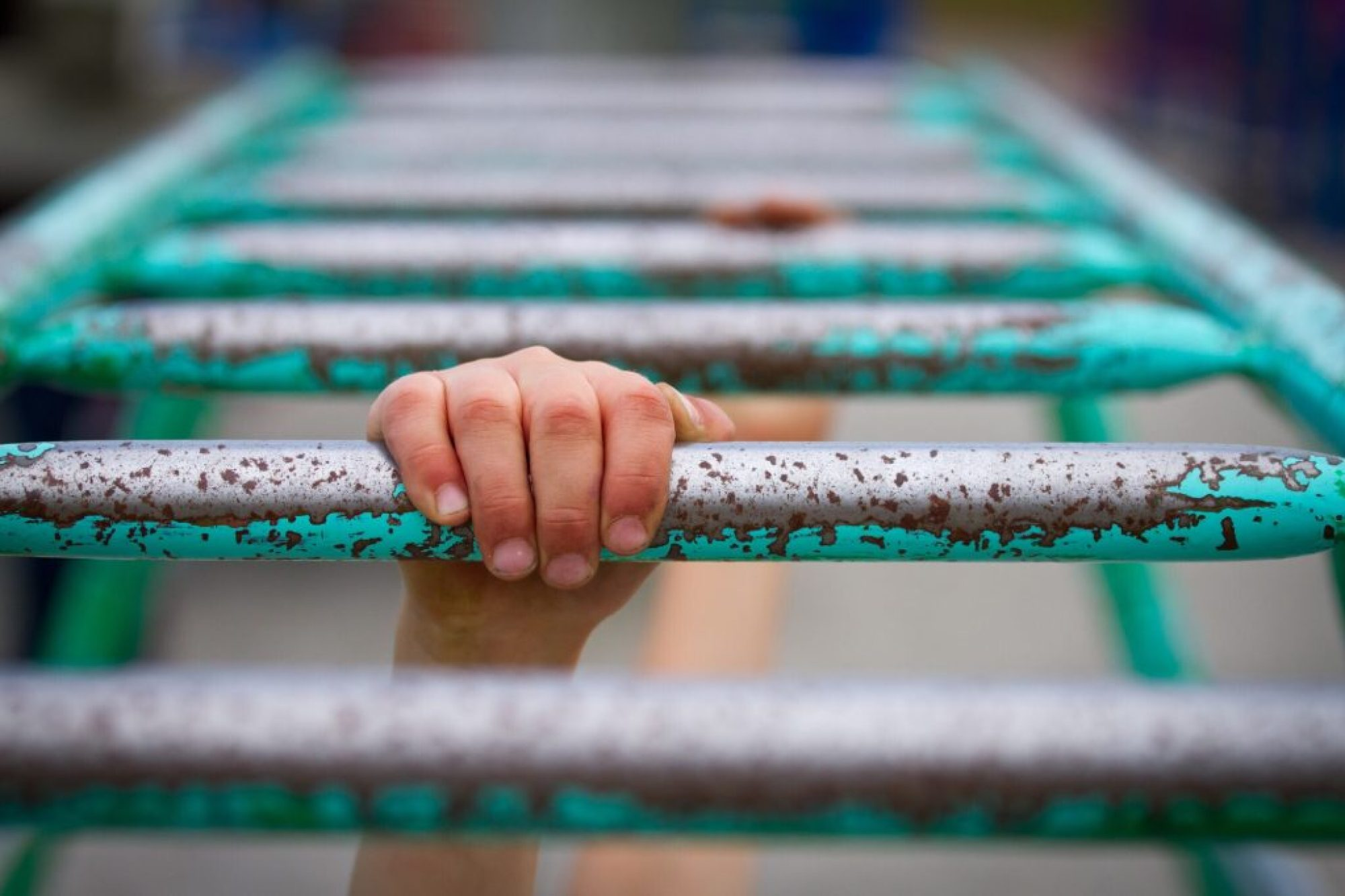monkey bars freedom letting go