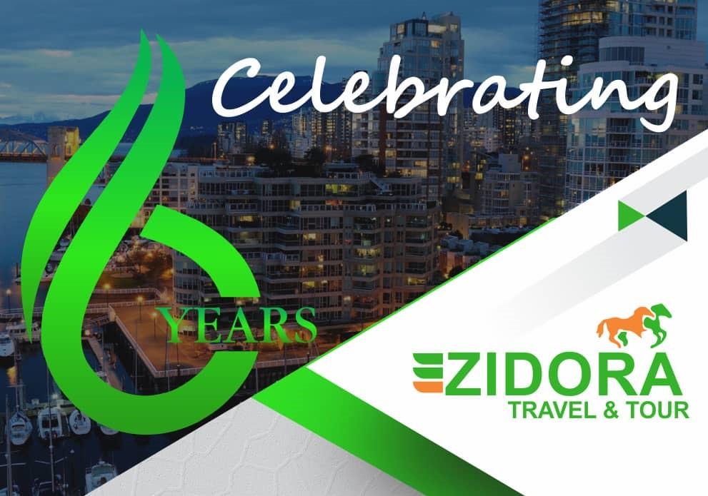 Zidora celebrates six years
