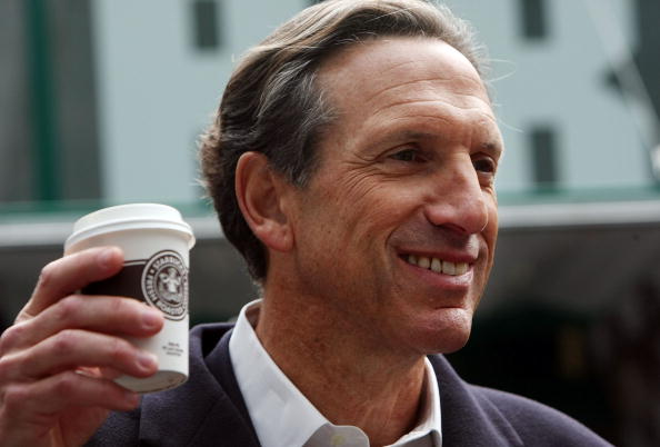 Howard Schults the billionaire coffee seller