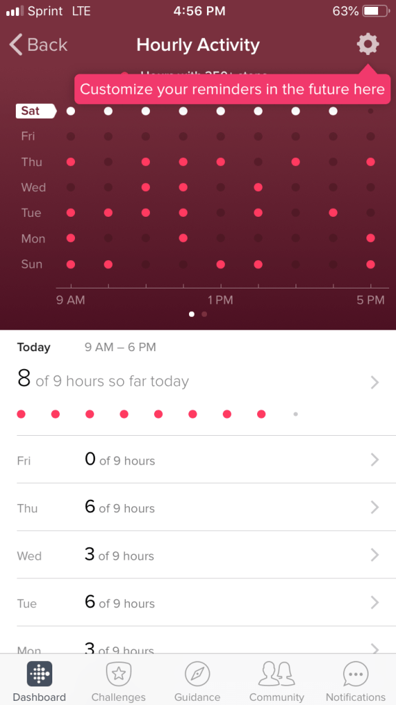 Fitbit Versa Daily Steps