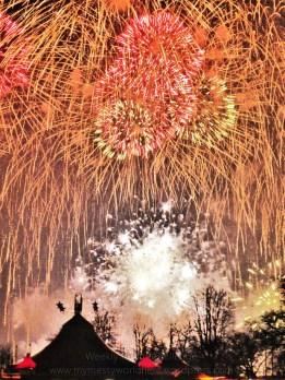 Zürich Fireworks New Year 2015