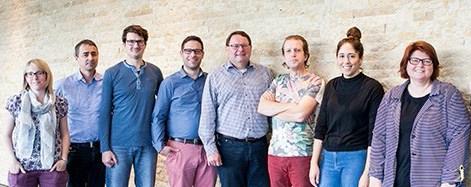 The marketing team at Metrohm Headquarters