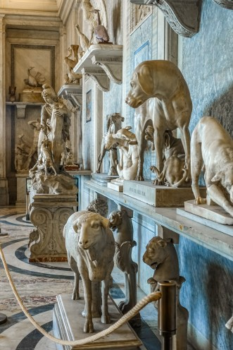 ... because the Vatican Museums are filled with countless sculptures, paintings, and other works of art.
