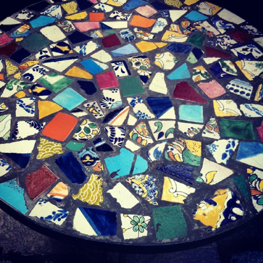 broken mexican tiles mexican tiles