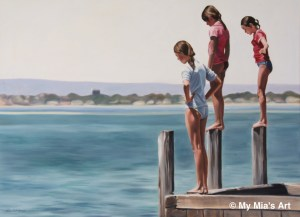 'Look Before You Leap' People's Choice award winner, Mosman Park Art Awards 2012