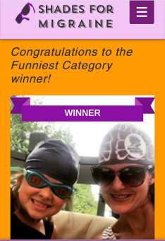 Shades for migraine funniest winner