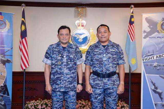 ACOS Defence Planning, MAF HQ Mej Jen Dato' Saharuddin bin Mansor.
