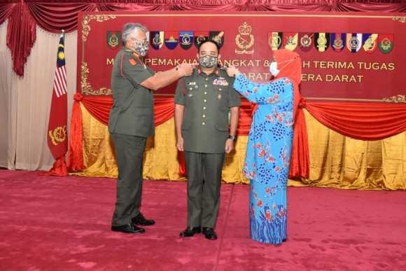 Major-General Datuk Muhammad Hafizuddeain bin Jantan promoted Lieutenant-General with effect from 19 Dec 20.