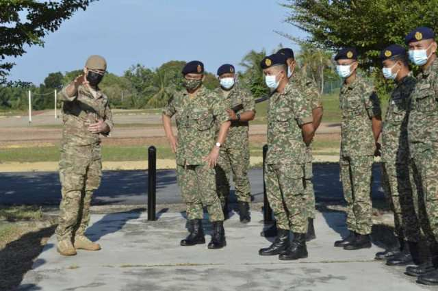 Canadian Armed Forces conducts Exercise Mantis with Malaysian Armed Forces