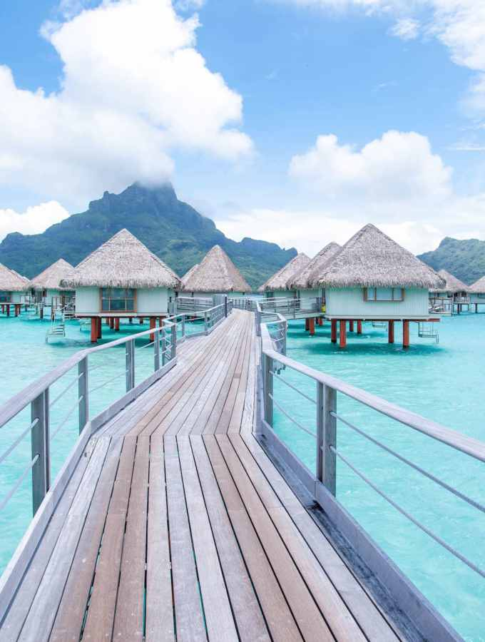 Bora Bora by Land