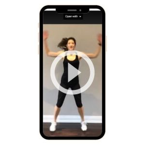 myMindBodyBaby PCOS Fitness & Nutrition Guide Exercise Video